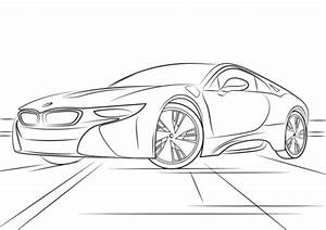 bmw i8 coloring page free printable coloring pages With bmw e39 m5