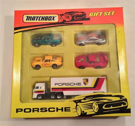 matchbox porsche matchbox superfast porsche gift set