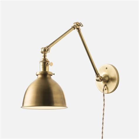 Hardwired Sconce - l lighting ls swing arm l wall sconce hardwired