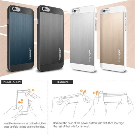 Sgp Thin Fit For Iphone Oem sgp aluminium fit for iphone 6 oem golden