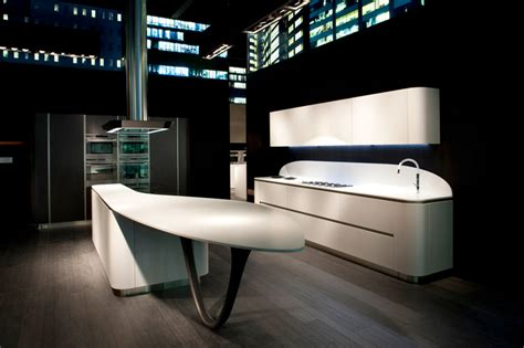 futuristic kitchen designs futuristic kitchen design characterized by smooth rounded 1146