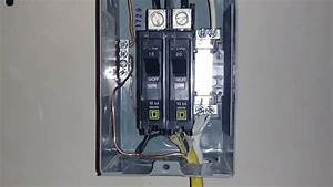 30 Amp Sub Panel Wiring Diagram