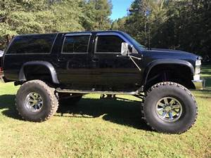 1994 Chevy Suburban 2500 4x4 Diesel Lift Monster Custom