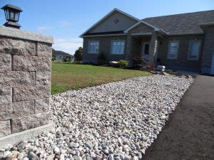 ottawa landscaping stone river rock supply delivery