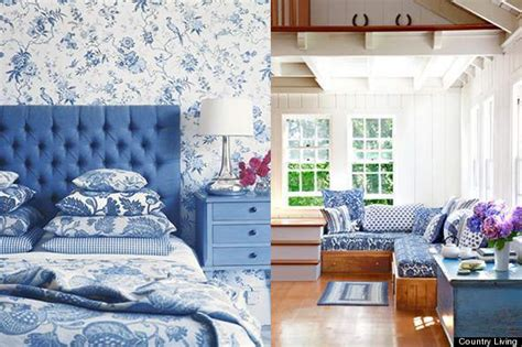 Home Blue And White by Homeofficedecoration Blue And White Country Bedrooms
