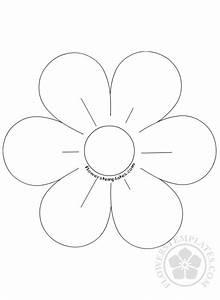Lotus Flower Petal Template 6 Petal Flower Template Coloring Page Flowers Templates