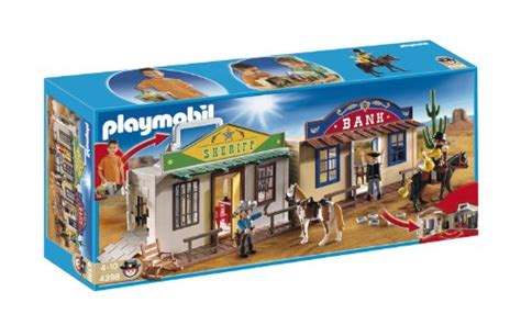 playmobil my take along western city new figures
