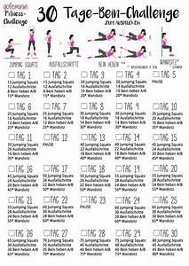 30 Tage Fitness : f r sch ne straffe beine die 30 tage bein challenge casual sport pinterest workout 30th ~ Frokenaadalensverden.com Haus und Dekorationen