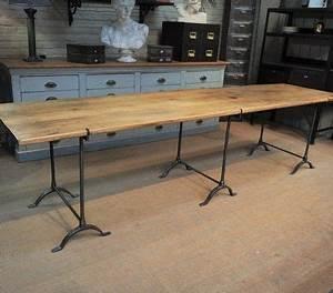 Table Industrielle Ikea : les 25 meilleures id es de la cat gorie table tr teau sur pinterest tables tr teaux table ~ Teatrodelosmanantiales.com Idées de Décoration