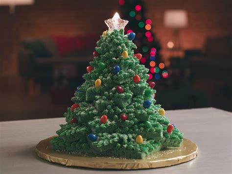 christmas tree cake recipe food network kitchen food