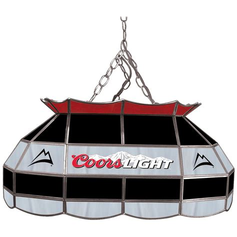 coors pool table light coors light 28 quot stained glass pool table l 281487