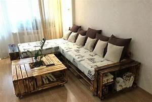 Couch Aus Paletten : die besten 25 sofa aus paletten ideen auf pinterest sofa aus europaletten palettencouch und ~ Markanthonyermac.com Haus und Dekorationen