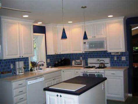 backsplash for white kitchen white kitchen blue backsplash home design ideas