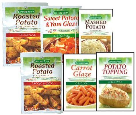 how to season potatoes 6 concord potato seasonings glazes