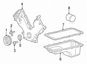 Ford Expedition Engine Oil Pan Gasket  Liter  Bearings  Sohc