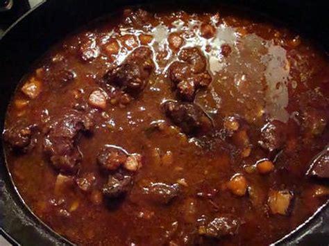 cuisiner du boeuf recette de daube de boeuf