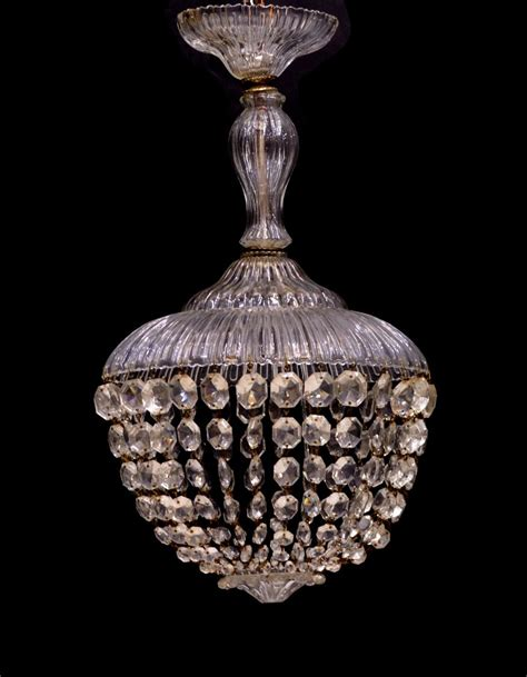 italian swag 3 light chandelier july mid century