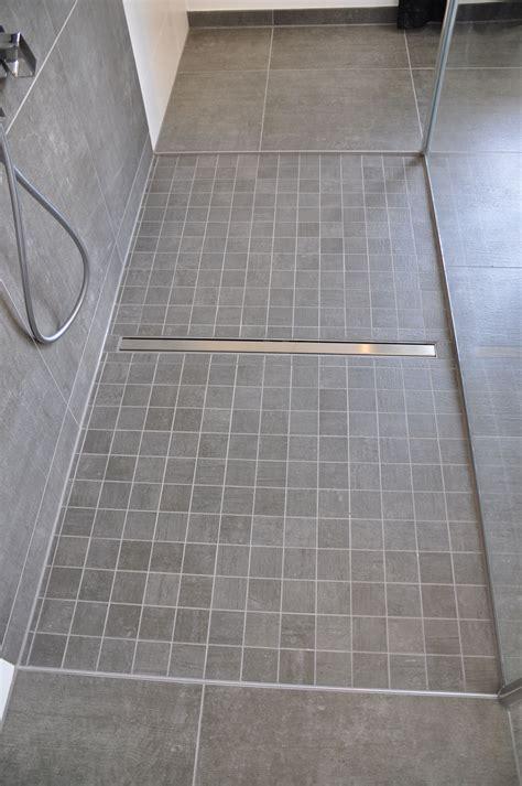 Duschboden Ohne Fliesen by Bodenebene Dusche Mit Mosaik Villeroy Boch Side In