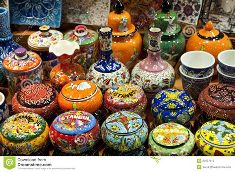 turkish souvenirs istanbul ceramic turkey s for ceramics on display istanbul turkey stock image image of colourful shopping 24207619