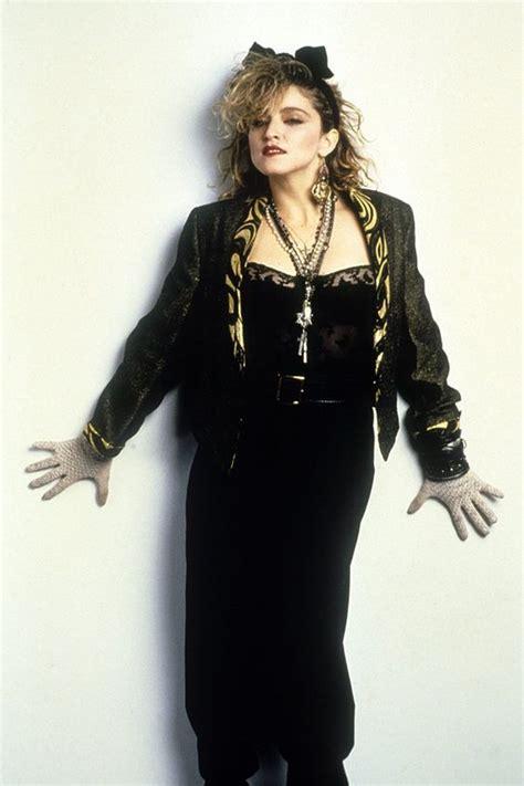 berühmte models der 80er 80er jahre die mode madonna
