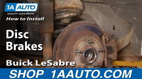 replace rear brakes   buick lesabre youtube