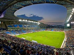 Sungui Arena Park Soccer Stadium In Incheon  South Korea By