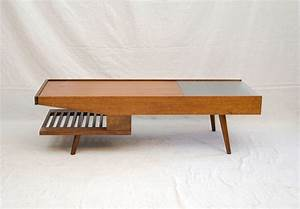 mid century coffee table john keal for brown saltman at With mid century modern furniture coffee tables