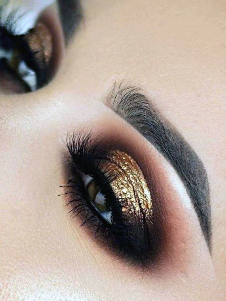 top   brown  gold eyeshadow ideas  women delicious designs honey bramble