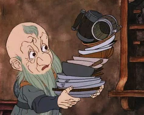 Blunt The Knives! Bend The Forks! The Hobbit 1977 Cartoon