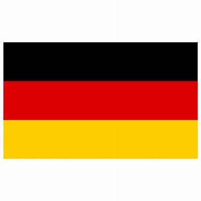 Flag German Stickers Icon Germany Rectangle Bumper