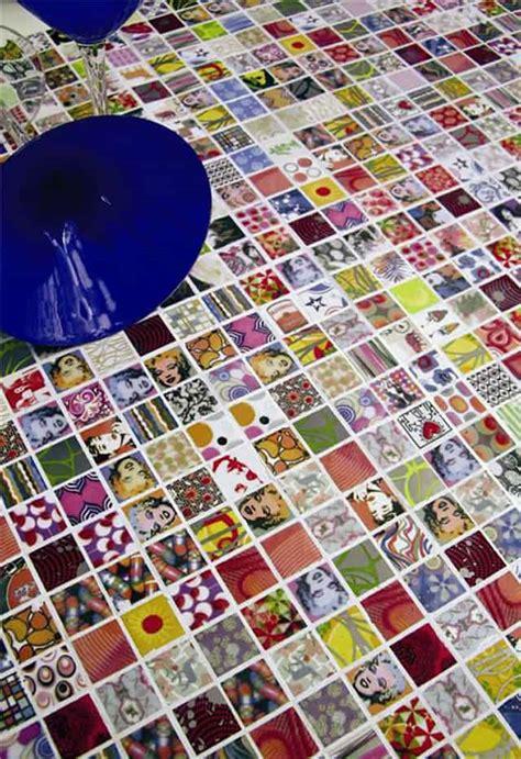unusual tile ideas