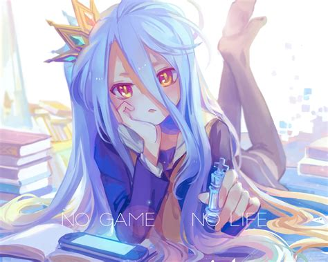 Achyue Book Cropped Crown Game Console No Game No Life