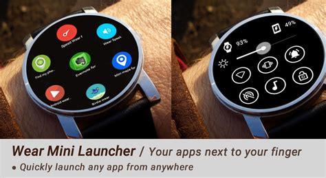wear mini launcher pour ouvrir plus rapidement les applis sous android wear