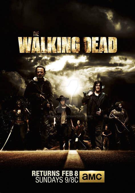 walking dead season  mid poster  jevangood