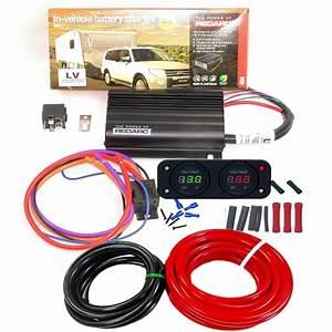 Redarc Bcdc 1240 24v To 12v Dual Battery System Dc