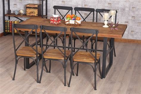 table en fer forge et bois chaise en fer industriel 9 table de bar fer forge et bois uteyo