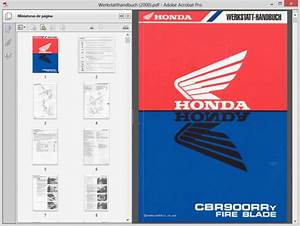 Honda Cbr900rr - Werkstatthandbuch