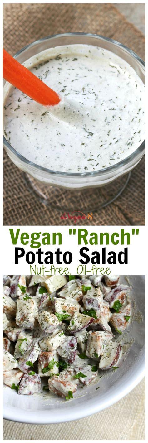 vegan ranch dressing vegan ranch dressing and potato salad the vegan 8