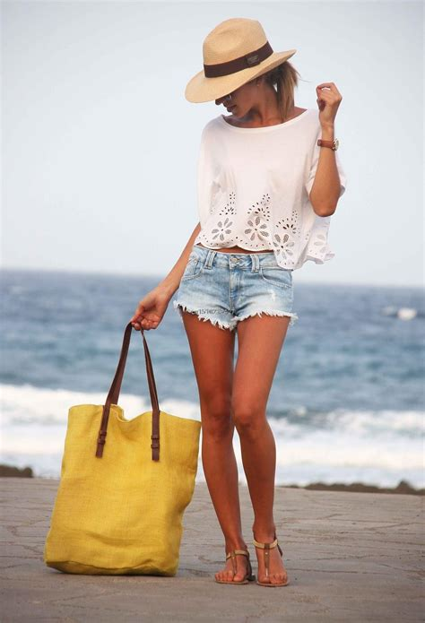 Outfits For The Beach Itu0026#39;s Gotta Be Cute - Beach Outfit Ideas - Just The Design