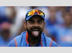 Virat Kohli's 'Tongue'incheek gesture vs Bangladesh sets