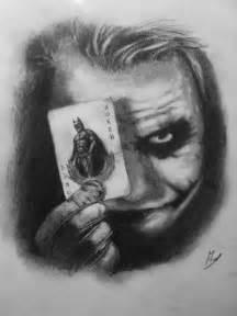 Heath Ledger Joker Drawing