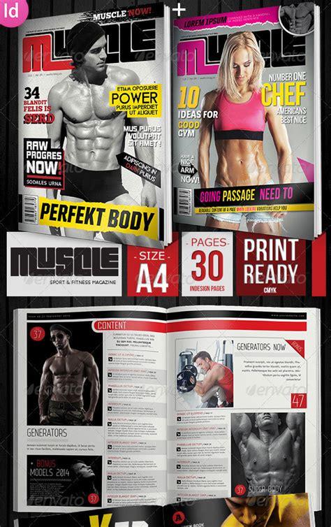sport magazine cover  layout templates dzineflip