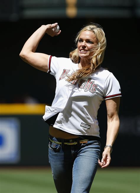 olympian jennie finch joins mlb  youth softball