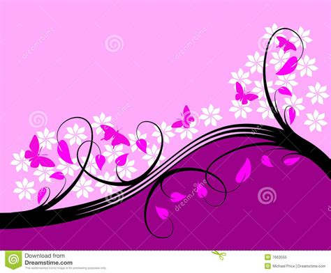 Design Purple And Pink by Purple Floral Background Design Royalty Free Stock Photo