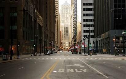 Street Background Chicago Usa Skyscrapers Wallpapersafari