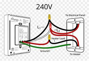 240v Wiring Diagram - Wiring Diagram Clipart   1705251