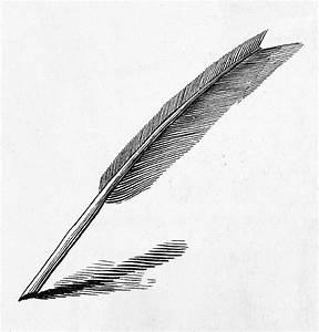 Handwriting: Quill Pen Photograph by Granger