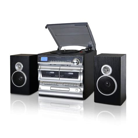 Cassette Cd Player by Lp Record Cassette Cd Player Turntable Stereo Speakers Fm