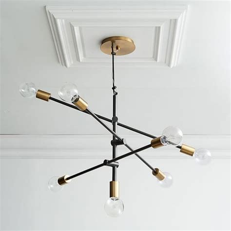 mobile chandelier large west elm