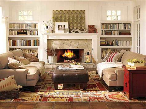 Living Room With Sectional And Corner Fireplace by How To Get The Best Deal On Pottery Barn Living Room